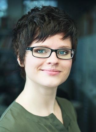 Projektleiterin Katharina Blaschek