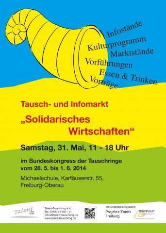 Tausch- und Infomarkt Solidarisches Wirtschaften 2014
